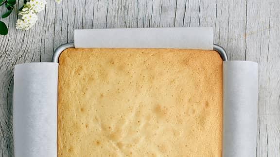 Le gâteau éponge