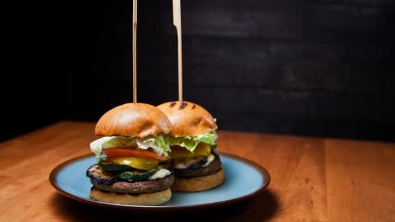 Le meilleur burger végé aux lentilles