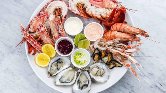 Comment réaliser un plateau de fruits de mer frais selon Mathieu Gauthier