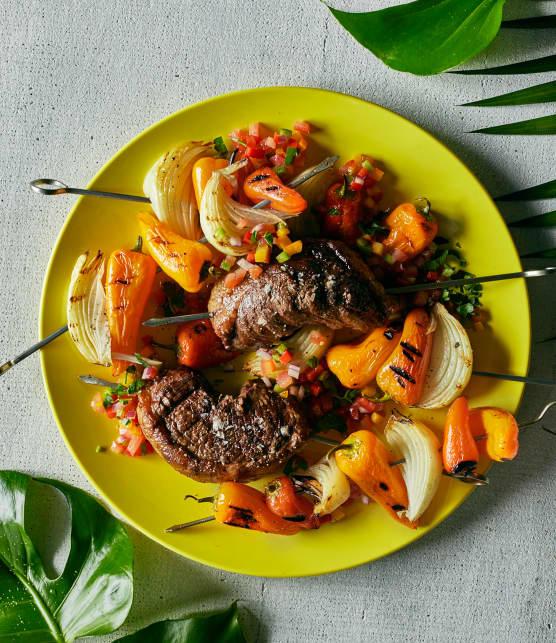 Picanha (surlonge de bœuf, sauce campagnarde)