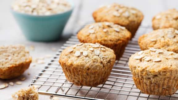 Muffins santé aux pois chiches