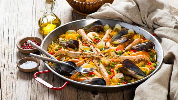 TOP : Les meilleures recettes de paella