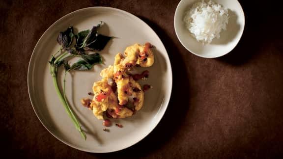 Poulet en sauce aigre-douce à la sichuanaise