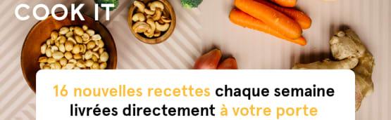 Retrouvez les recettes sur le site de COOKIT!