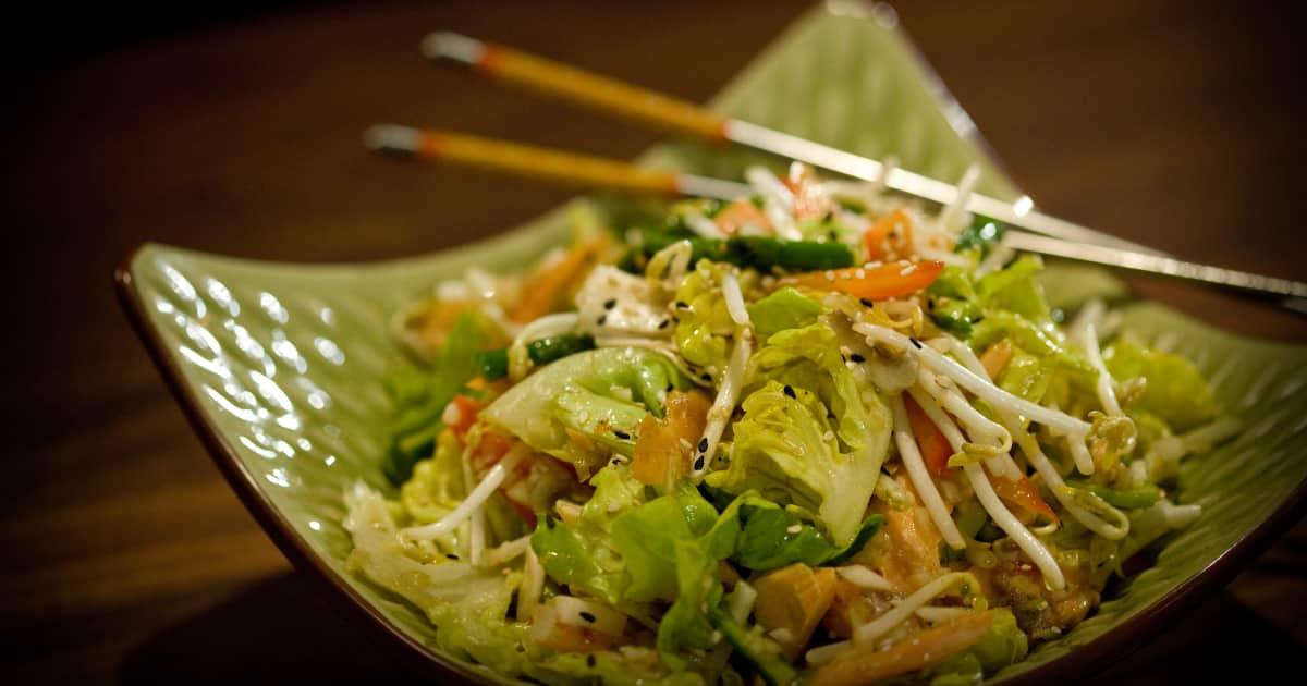 salade asiatique foodlavie. Black Bedroom Furniture Sets. Home Design Ideas