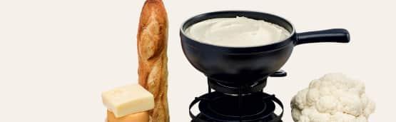 Festin de fondue au fromage!
