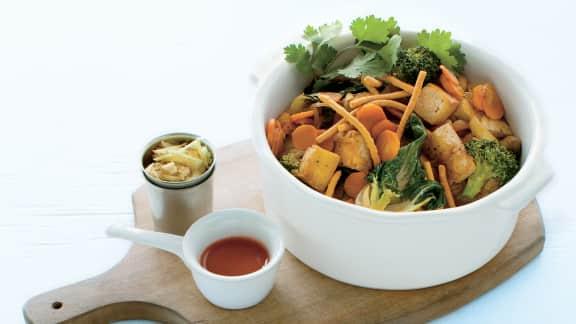 Sauté de tofu