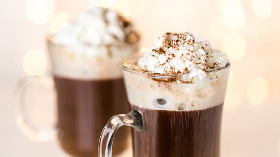 Chocolat chaud au Baileys