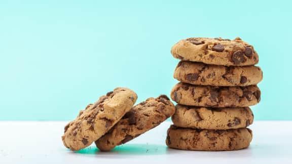 Biscuits au chocolat noir et à la noix de coco