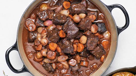 TOP : 5 recettes de boeuf bourguignon réconfortantes