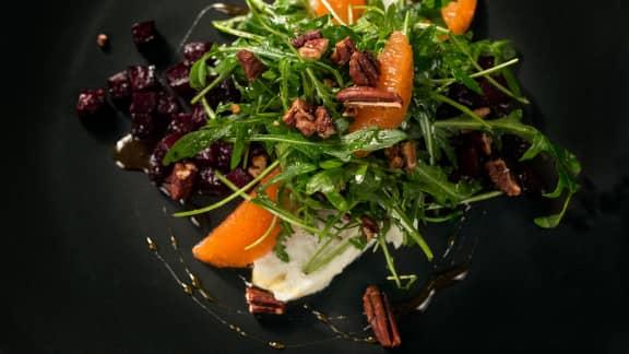 Salade de betteraves aux légumineuses