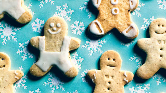 Pâte à biscuits festive