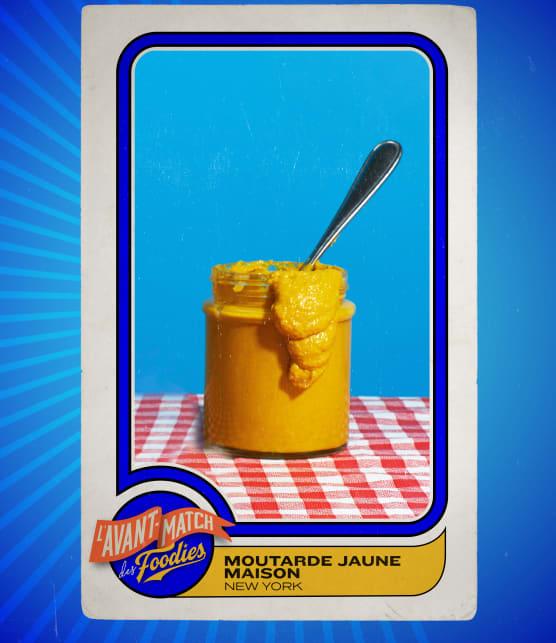 Moutarde jaune maison
