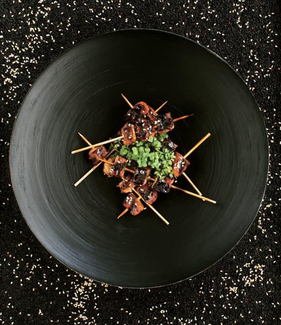 Brochettes de porc yakitori