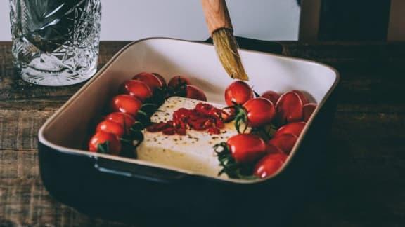 Voici comment réaliser la recette virale de pâtes au fromage fêta