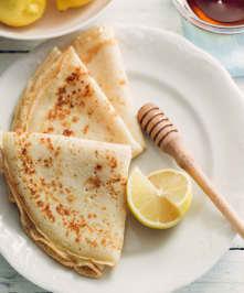 Crêpes sucrées et pancakes