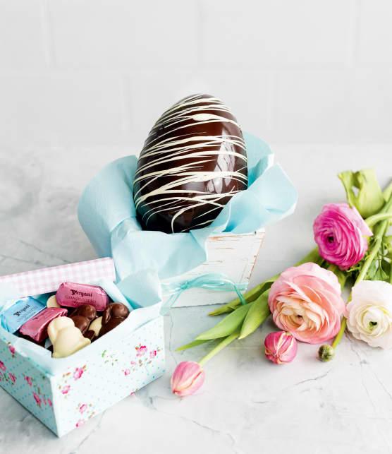 Confectionner un oeuf de Pâques surprise en chocolat en 6 étapes faciles