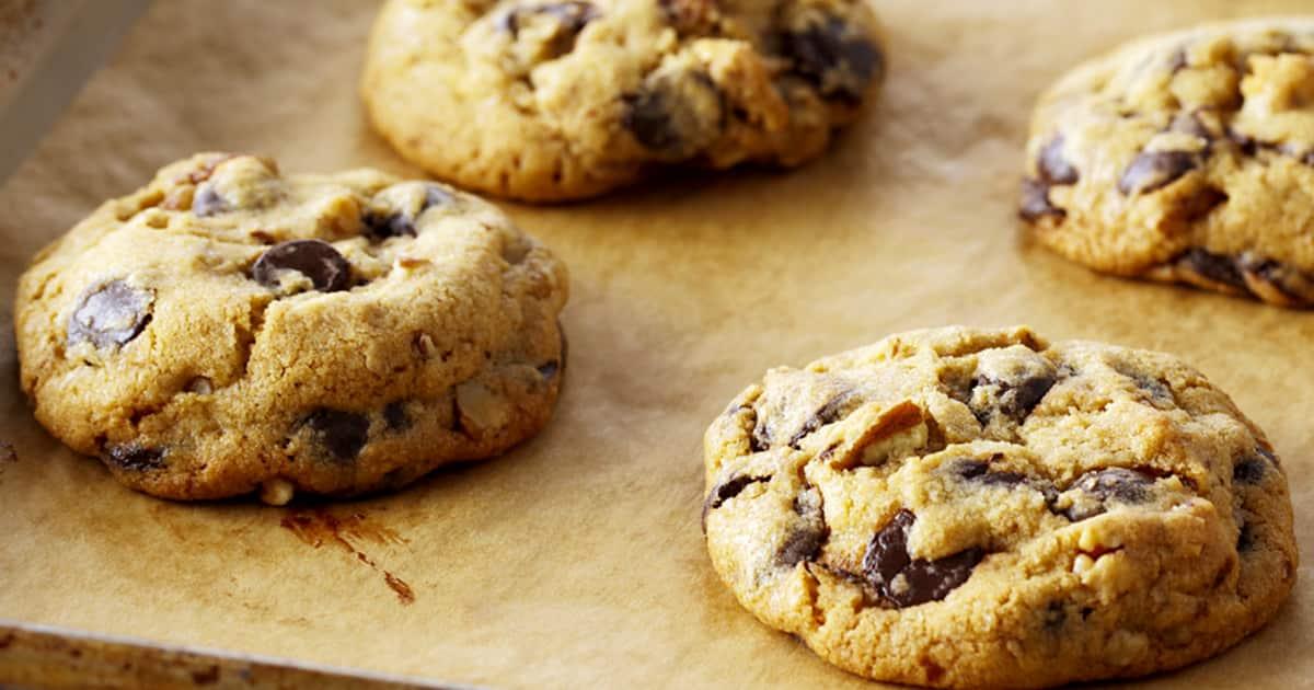 Recette de biscuits aux pépites de chocolat | Zeste