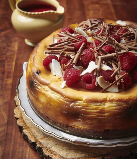 Gâteau au fromage Whippet aux framboises