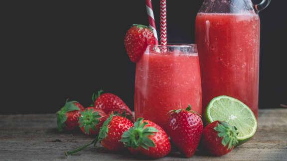 Limonade de fraise