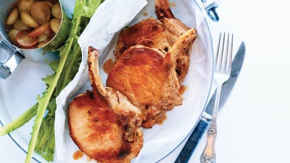 TOP : 8 recettes de côtelettes de porc décadentes