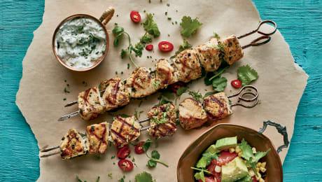 TOP : 10 recettes de brochettes de poulet sur le BBQ
