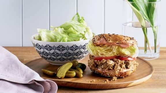 Sandwich au végépâté