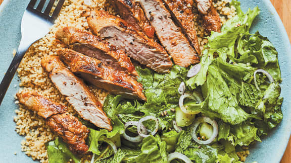 Vendredi : Filet de porc à l'abricot