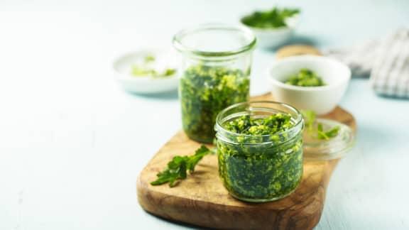 Pesto d'algues