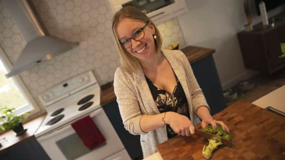 Édith Ouellet, nutritionniste engagée