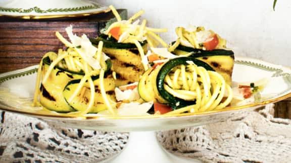 Roulades de zucchinis