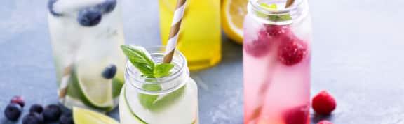 Boissons et cocktails sans alcool