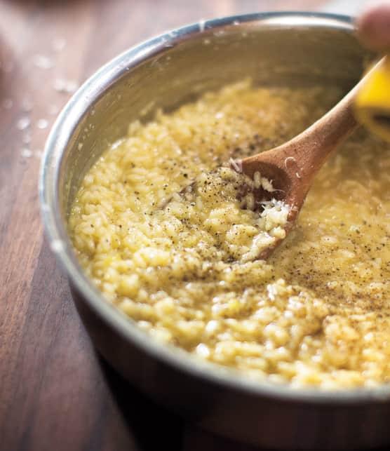Comment préparer un risotto onctueux