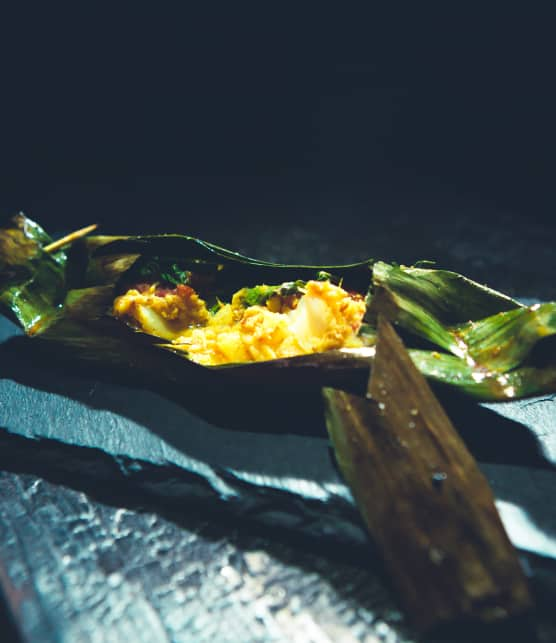 Papillote de poisson (Pepes Ikan)