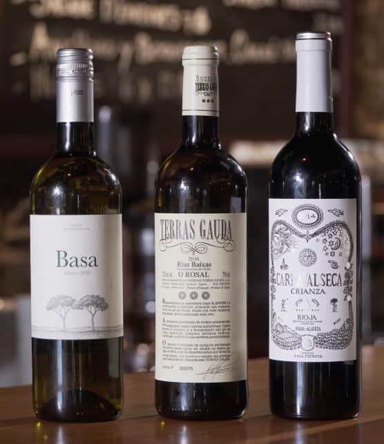 Les vins espagnols vus par le chef Haissam Souki Tamayo