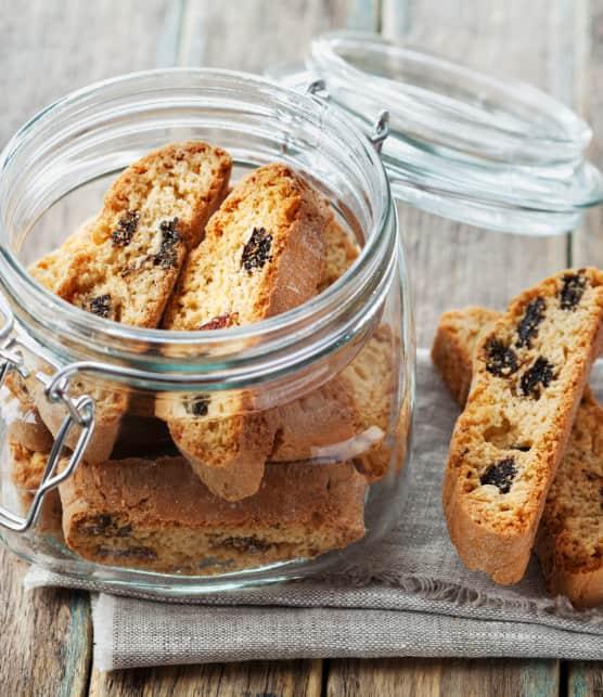 Réussir des biscottis aux bleuets séchés