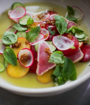 Préparer une salade de thon albacore