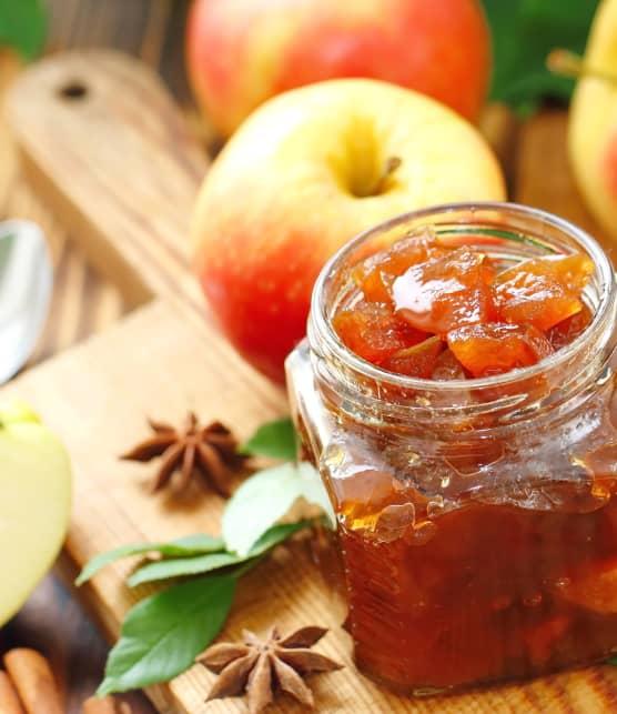 Conserve de pommes à la cannelle