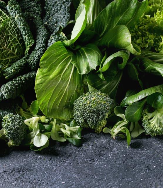 6 façons de manger plus de légumes verts