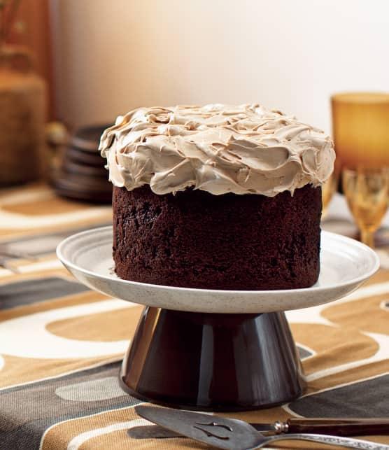 Gâteau chocolat-thé aux épices