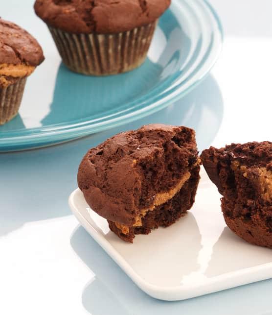 Muffins au chocolat et à la banane