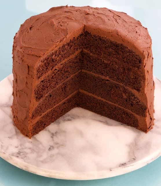 Gâteau au fudge et au chocolat