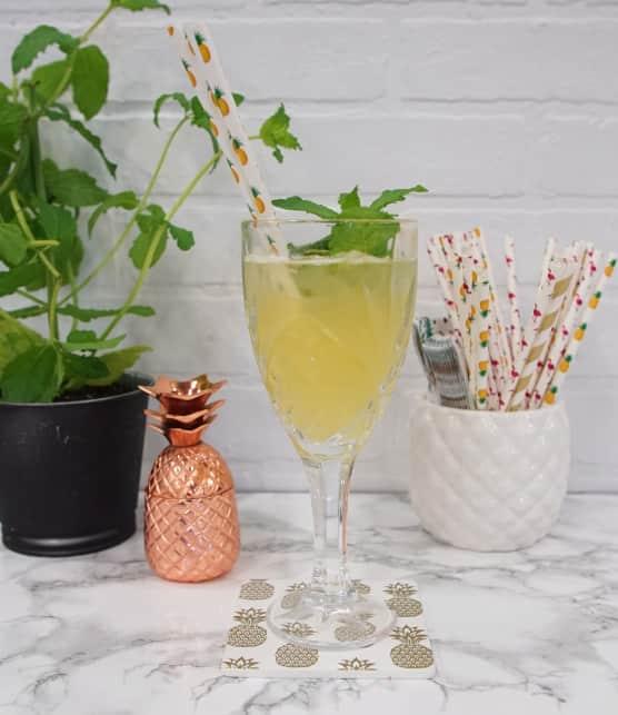 Le parfait mocktail (cocktail sans alcool) de Fanny Gauthier