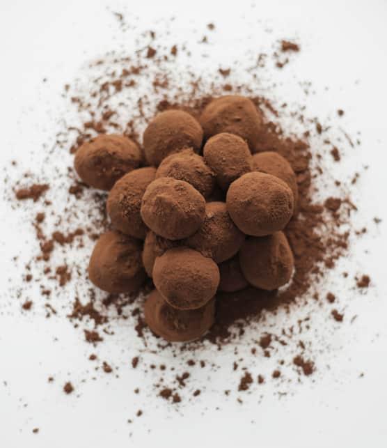Comment faire des truffes au jus de baies d'argousier selon Jany Laurin