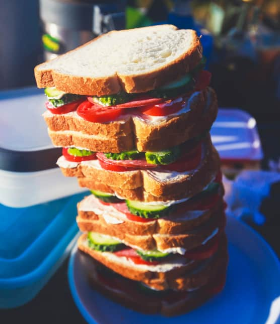 Lunchs et collations sur la route