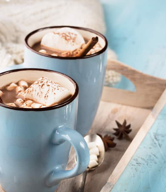 Chocolat chaud au sucre à glacer