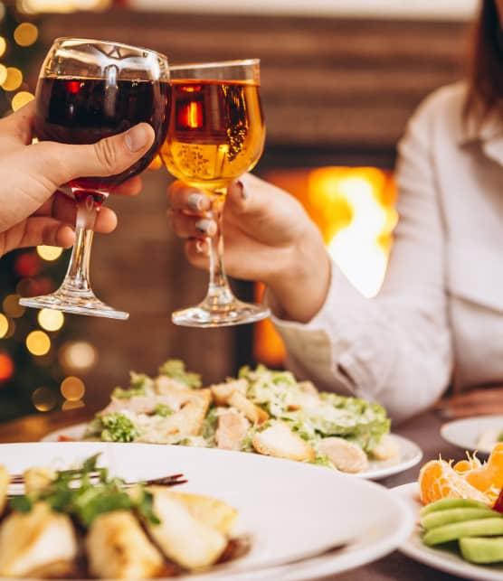Noël à deux : Menu complet pour le temps des Fêtes!