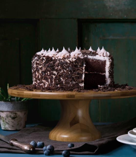 Gâteau au chocolat décadent