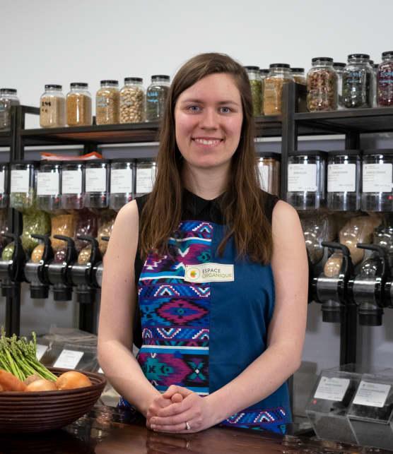 La spécialiste du Zéro déchet nous invite à nous questionner sur la consommation à l'épicerie