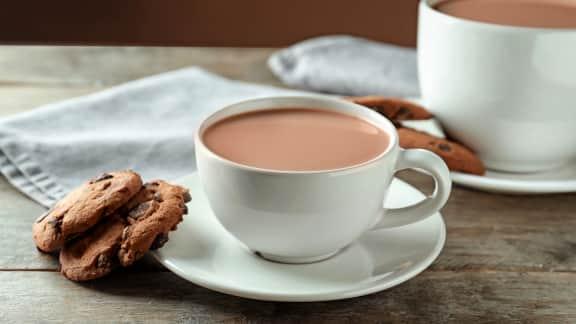 recette de chocolat chaud juliette et chocolat foodlavie. Black Bedroom Furniture Sets. Home Design Ideas